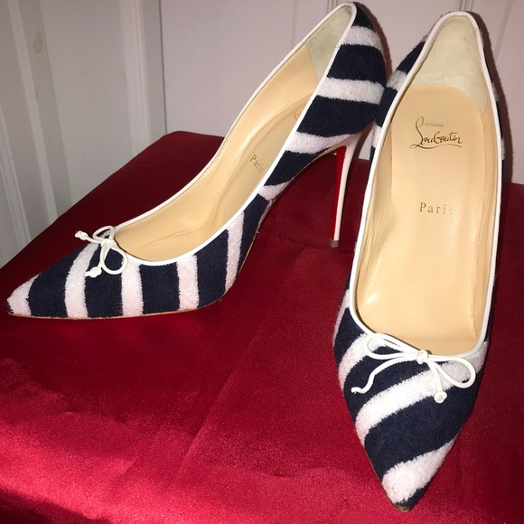 """3c08b42b6e7 Authentic Christian Louboutin """"Red Bottoms"""""""